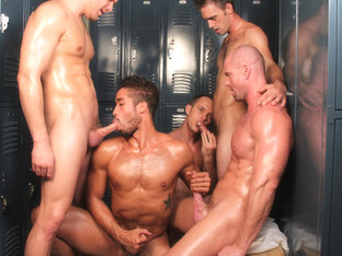 Trey Turner in Locker Room Tryst - GayRoom