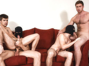 Connor Maguire & Jason Maddox & Johnny Rapid & Will Braun in Stealing Johnny Part 3 - JizzOrgy
