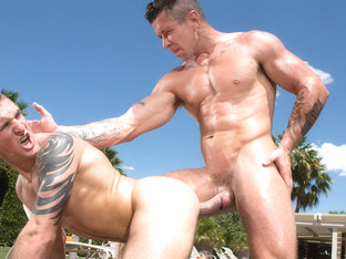 Trenton Ducati & Connor Kline in Heatstroke Scene