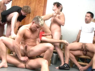 Ggc #46 Ass Banged Party Studs  Scene 4 - Bromo