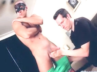 Incredible male in exotic blowjob, hunks gay sex scene
