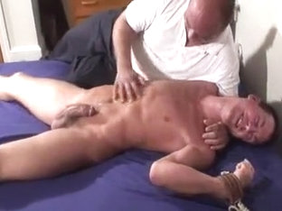 Crazy male in hottest fetish gay sex scene