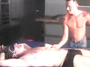 Exotic male in fabulous fetish, bdsm homosexual xxx scene