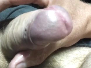 Milking and Edging Uncut Cock