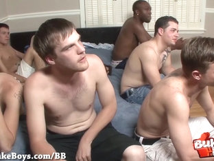 Bareback And Cum For Nasty Boy - Bukkake Boys
