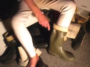 nlboots - waders green boots