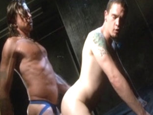 Hottest male pornstar in exotic swallow, masturbation homo adult scene