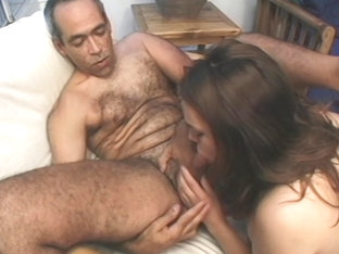 My father and my brother stretched my pussy hard