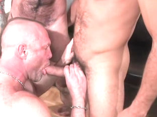 Antonio Biaggi, Chad Brock and Nick Moretti - BarebackThatHole