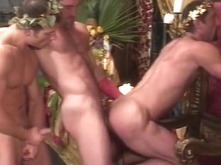 Conquered scene 3 ft.Billy Herrington, Nino Bacci, Blake Harper, Jay Ross, Colton Ford and Tino Lo.