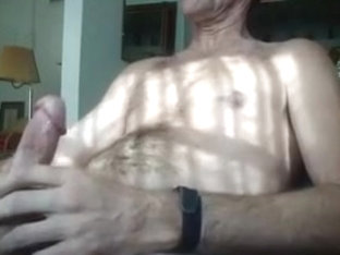 Creamy warm cum all over my stomach felt fucking awesome