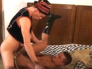 European bareback missionary sex