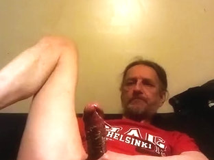 Self fisting jerking and no hands prostate milking twice