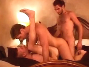 Hairy guys hotel room anal