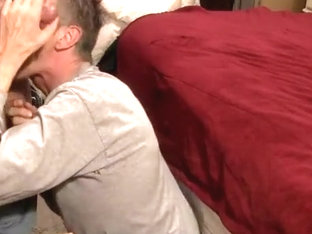 Face Fucked by Ex-Marine Cock!
