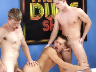Brandon Bangs & Shane Frost & Tyler Andrews in The Dude Show 2 Scene