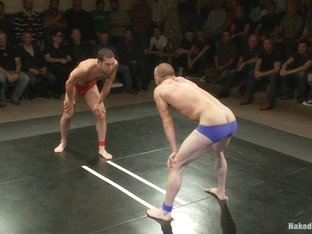 NakedKombat Intense Live Tag Team Match