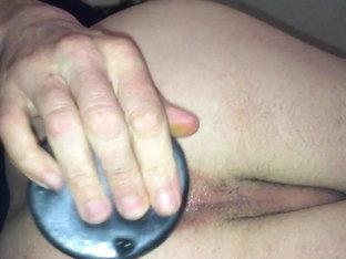 Big dildo multiple deep
