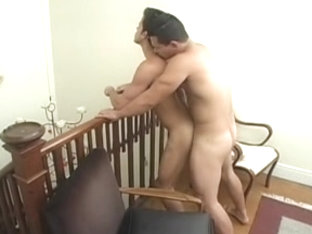 Lustful Muscled Gay Dudes Having A Wild Anal Intercourse