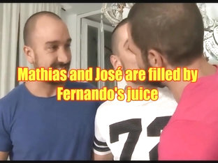 Fernando gives his juice