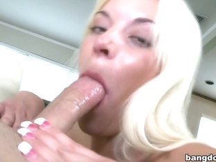 A Big Mouth Full For Shay Golden!
