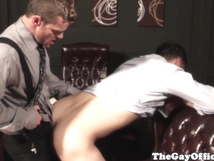 Office fuck with Tommy Defendi on table