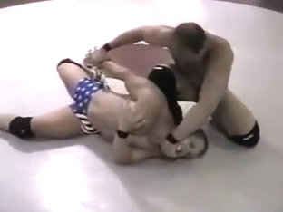 Muscle wrestling, no sex