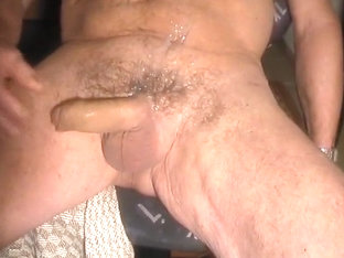 His cock cums when soft