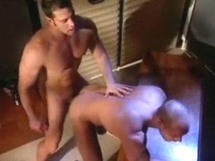 Macho man sex in dark room