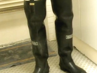 nlboots - bitk, smokin', rubber waders, jeans