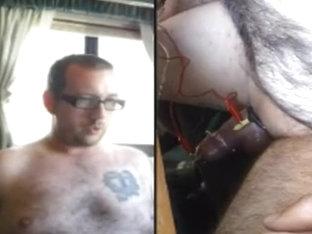 Dual POV Estim Hands Free Orgasm