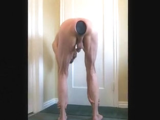 Anus and Ass Stretches for the Giant XXXL Black Butt Plug