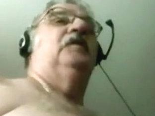 Grandpa show on cam 13