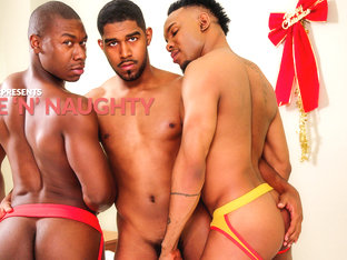 XL & Diaon Starr & Damian Brooks in Nice 'n' Naughty XXX Video
