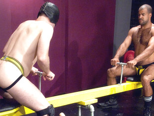 Jack Often & Roman Wright in Fisting Playground 1, Scene #04