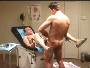 Gay patient fucks his doctor after examination