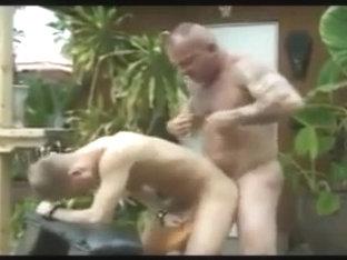 Exotic gay video with Daddies, Men scenes