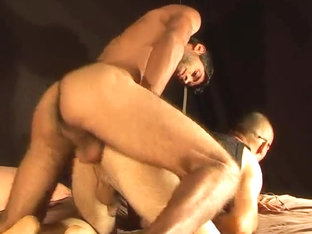 Fucked by thick gay cock with ass creampie