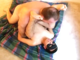 Guy In Mask Giving Head and Gets Hot Banging