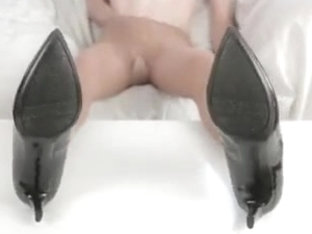 Cumming on my nylon soles