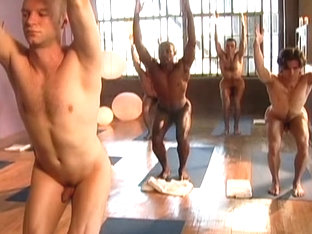 Aaron Star's Hot Nude Yoga 2 - strength