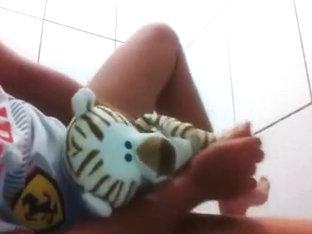 Boy Humps Teddy Bear