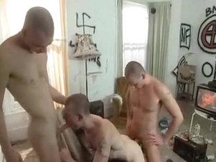 Skin Head Gangbang