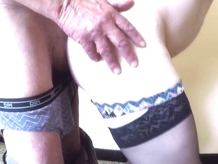 Old Men Spank Me and Fuck my ass