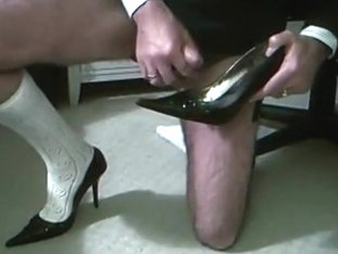 High Heel wank
