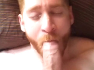 Hawt muscle ginger engulf, fuck and cum