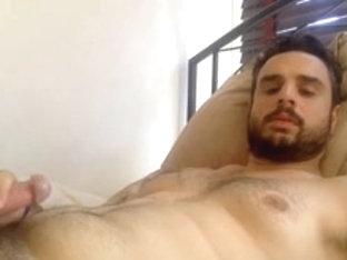so horny hunk masturbating