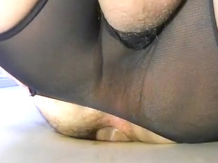 THICK MEXICAN COCK AT MY GLORYHOLE NOW FUCKS ME..PART 2