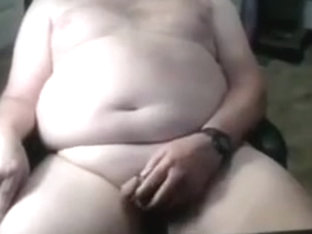 Grandpa stroke on cam 10
