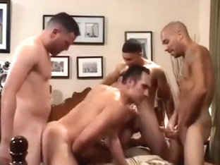 Eager bottom gets his ass full of cum and cock